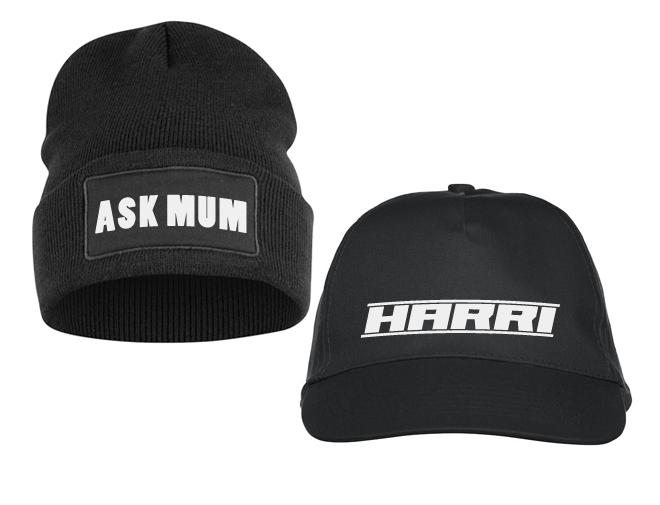 Hattu painatuksella